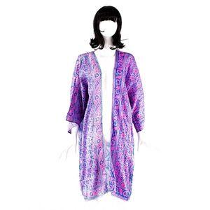 VTG 70's ZODIAC India Hand Blocked Kimono